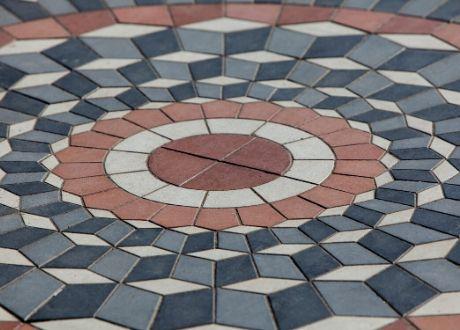 Paving in Centurion - Circle Patterns